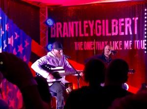 Brantley Gilbert VIP Room