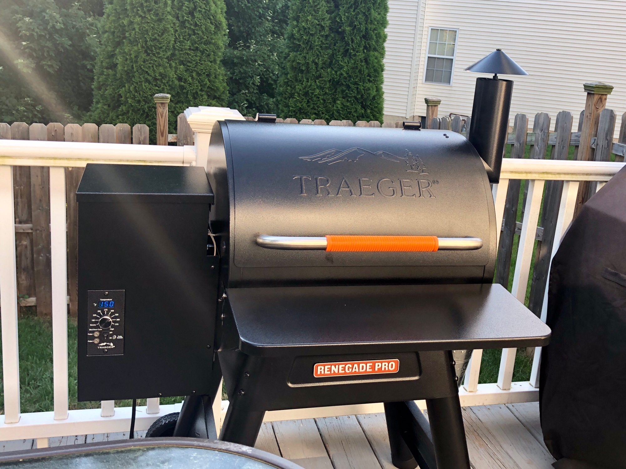 Traeger Renegade Pro grill.