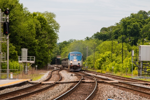 Capitol Limited in Point of Rocks
