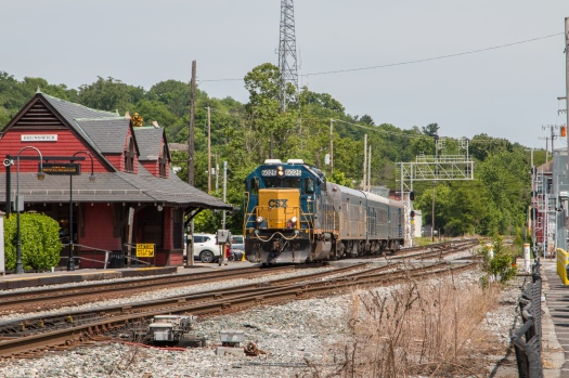 CSX Geometry Train in Brunswick Maryland