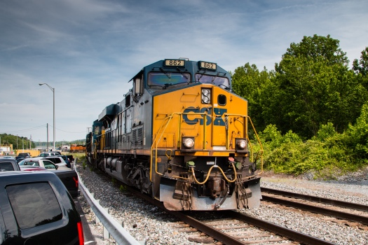CSX Freight Train in Brunswick MD