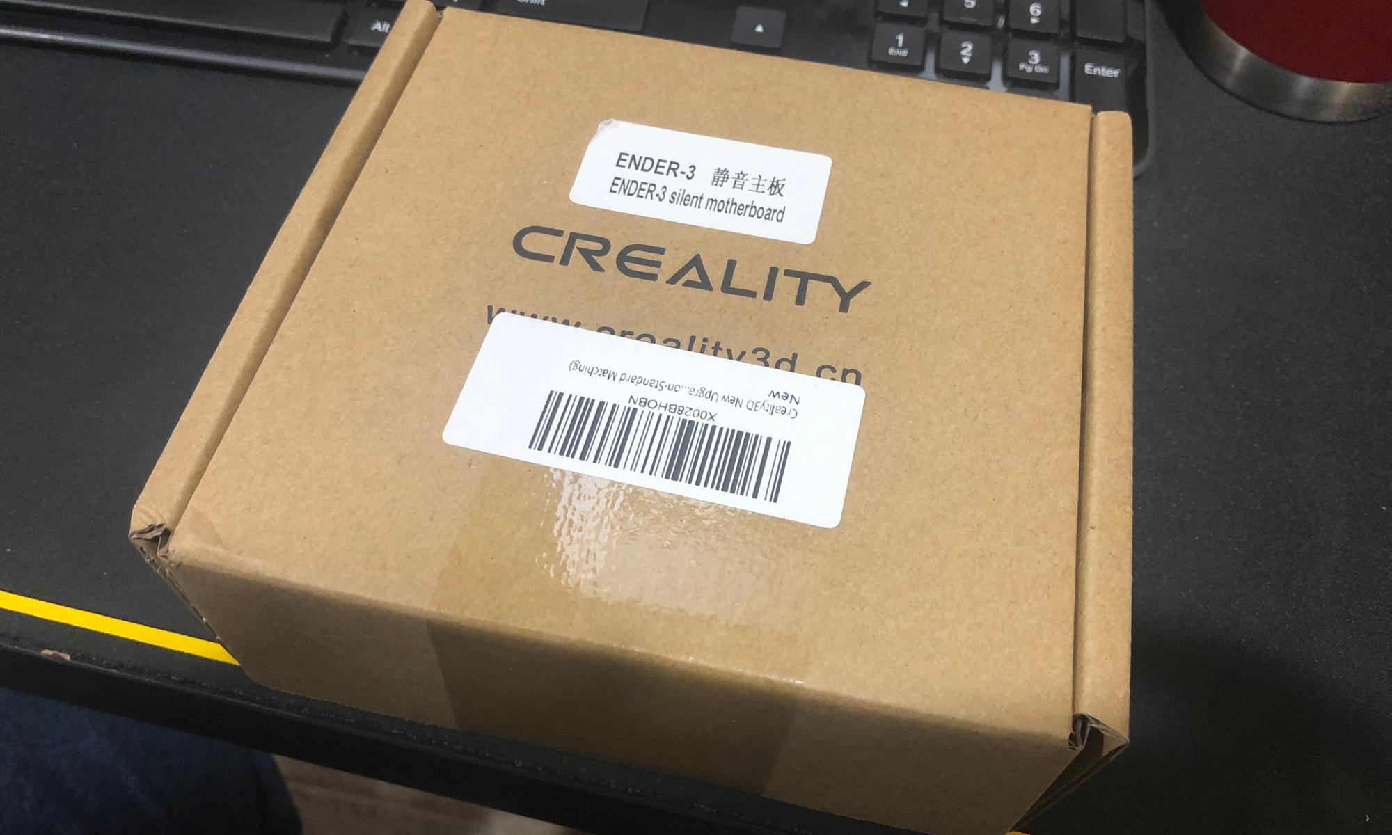 Box for Creality 3D 1.1.5 Upgraded Mainboard for Ender 3