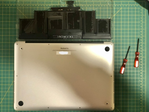 Overview of MacBook Pro battery project