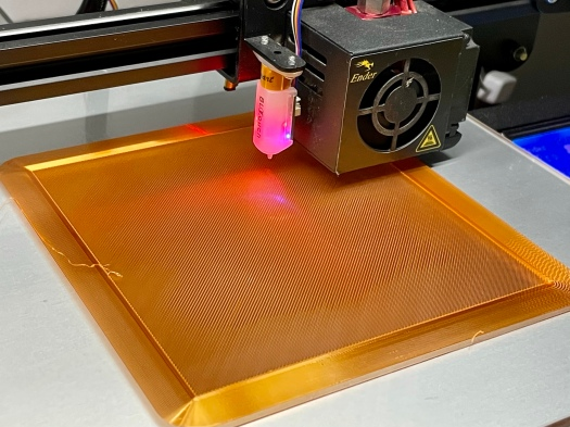 Perfect initial layer lines on 3D print